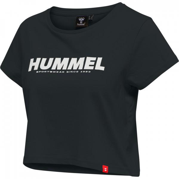 Hummel hmlLEGACY WOMAN CROPPED T-SHIRT